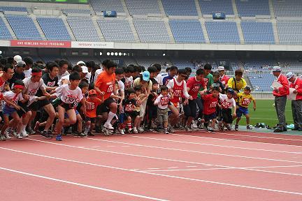 チビリンピック親子マラソン