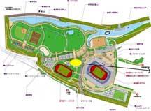新横浜公園地図