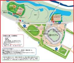 新横浜公園図(投てき場)