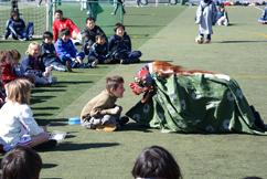 川島囃子 獅子舞