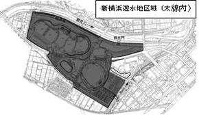 新横浜公園遊水地区(太線)
