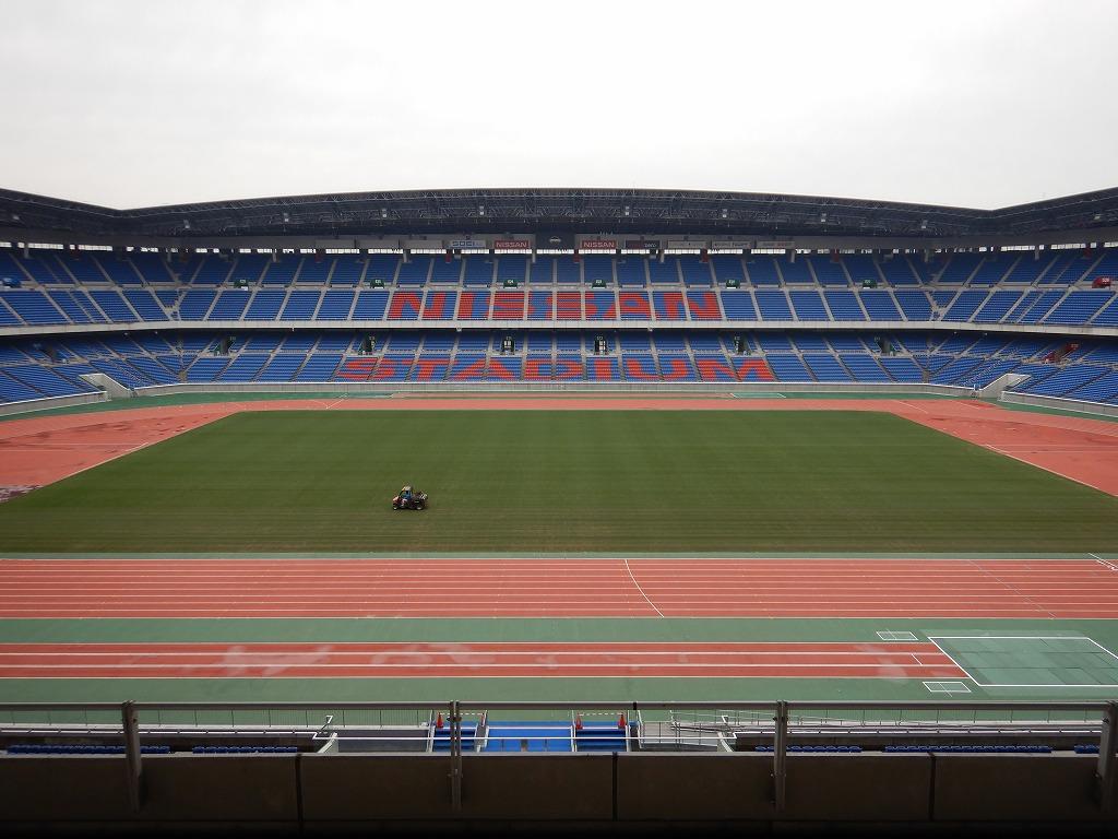 日産スタジアム 新横浜公園 スタッフブログ