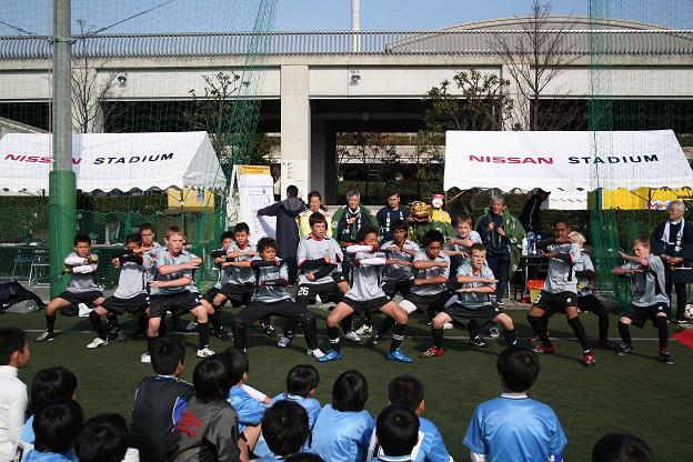 ニュージーランドチームによるウォークライ