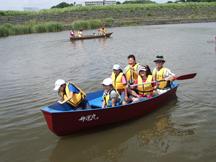 舟の体験1(舟運丸)