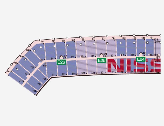 Seat Plan|nissan Stadium