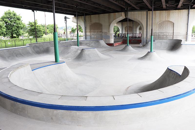 スケート パーク 新横浜 新横浜スケボー広場 リニューアルオープン